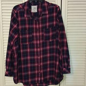 Sonoma Flannel Button Down